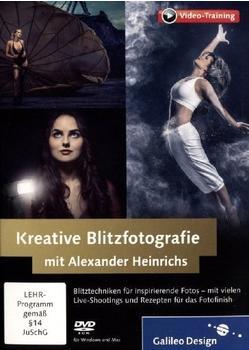 Rheinwerk Verlag Kreative Blitzfotografie mit Alexander Heinrichs