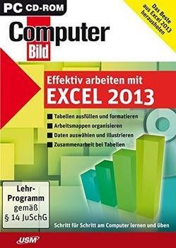 USM Computer Bild: Effektiv arbeiten mit Excel 2013 (DE) (Win)