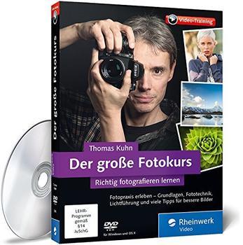 Rheinwerk Verlag Der große Fotokurs - richtig fotografieren lernen mit Thomas Kuhn