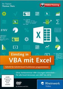Rheinwerk Verlag Einstieg in VBA mit Excel