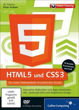 Rheinwerk Verlag HTML5 und CSS3: Die neuen Webstandards im praktischen Einsatz