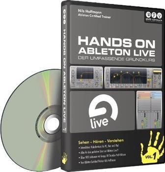 DVD Lernkurs Hands On Ableton Vol. 1: Der umfassende Grundkurs