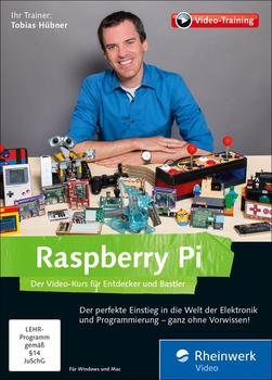 Rheinwerk Verlag Raspberry Pi: Der Video-Kurs für Entdecker und Bastler