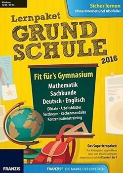 Franzis Lernpaket Grundschule 2016
