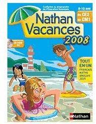 Nathan Vacances du CE2 vers le CM1 2008 (FR) (Win/Mac)