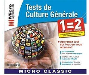 Micro Application Tests de Culture Générale (FR) (Win)