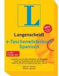 Langenscheidt e-Taschenwörterbuch Spanisch 6.0 (DE) (Win)