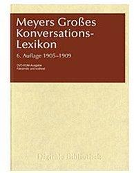 Directmedia Digitale Bibliothek 100: Meyers Großes Konversations-Lexikon 1905-1909 (DE) (Win)