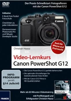 Franzis Video-Lernkurs Canon PowerShot G12 (DE) (Win)