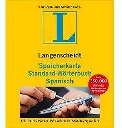 Langenscheidt Speicherkarte Standard-Wörterbuch Spanisch