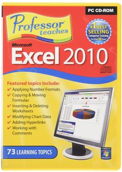 Individual Software Professor Teaches Microsoft Excel 2010 (EN) (Win)