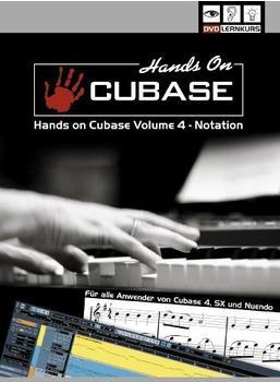 DVD Lernkurs Hands On Cubase Vol. 4 (DE) (Win/Mac)
