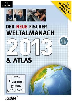 USM Der neue Fischer Weltalmanach 2013 & Atlas (DE) (Win)