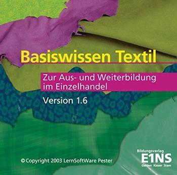 Bildungsverlag Eins Basiswissen Textil: Zur Aus- und Weiterbildung im Einzelhandel Version 1.6 (DE) (Win)