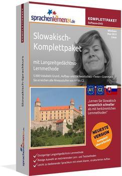 sprachenlernen24 Komplettpaket: Slowakisch