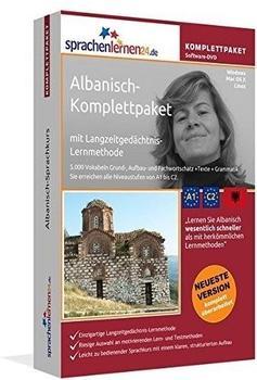 sprachenlernen24 Komplettpaket: Albanisch