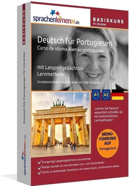sprachenlernen24 Basiskurs: Deutsch für Portugiesen