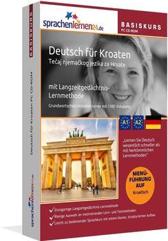 sprachenlernen24 Basiskurs: Deutsch für Kroaten