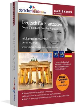 sprachenlernen24 Basiskurs: Deutsch für Franzosen