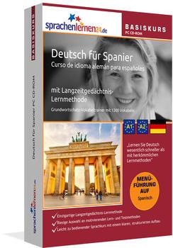 sprachenlernen24 Basiskurs: Deutsch für Spanier