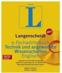Langenscheidt Fachwörterbuch Englisch: Technik & angewandte Wissenschaften V4.0 (DE) (Win)