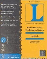 Langenscheidt Fachwörterbuch Englisch: Mikroeletronik (DE) (Win/Mac)