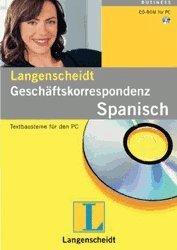 Langenscheidt Fachwörterbuch Geschäftskorrespondenz: Spanisch (DE)