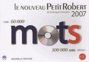 Mindscape Le Nouveau Petit Robert de la langue française 2007 (FR) (Win/Mac)