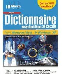 Micro Application Dictionnaire encyclopédique 2008 (FR) (Win)