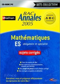 Mindscape Annales Bac Nathan Maths ES (FR) (Win)