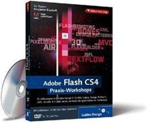 Rheinwerk Verlag Adobe Flash CS4 Praxis-Workshops (DE) (Win/Mac/Linux)