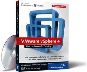 Rheinwerk Verlag VMware vSphere 4 - Das umfassende Training (DE) (Win/Mac/Linux)