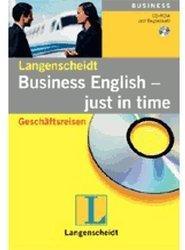 Langenscheidt Business English - Just in time - Geschäftsreisen (DE) (Win)