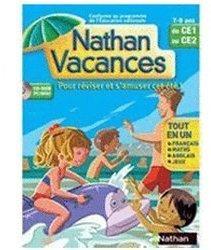 Nathan Vacances du CE1 vers le CE2 2007 (FR) (Win/Mac)