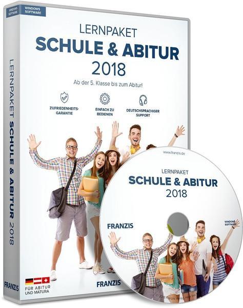 Franzis Lernpaket Schule & Abitur 2018