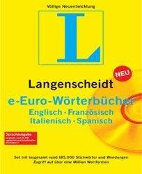Langenscheidt e-Euro-Wörterbücher Set 4.0 (DE)