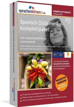 sprachenlernen24 Komplettpaket: Spanisch (Südamerika)