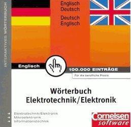 Cornelsen Wörterbuch Elektrotechnik/Elektronik (DE) (Win)