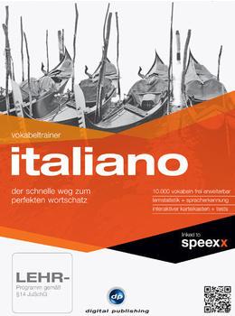 Digital Publishing Interaktive Sprachreise 16: Vokabeltrainer Italiano (DE) (Win)