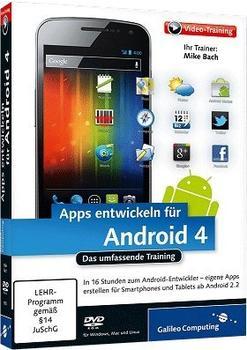 Rheinwerk Verlag Apps entwickeln für Android 4 - Das umfassende Training (DE) (Win/Mac/Linux)