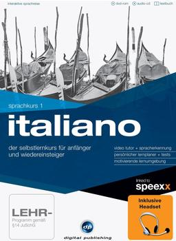 Digital Publishing Interaktive Sprachreise: Sprachkurs 1 Italiano + Headset (Win)