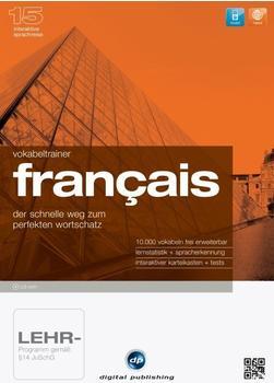 Digital Publishing Interaktive Sprachreise 15: Vokabeltrainer Francai (Win)