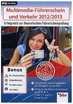 bhv Multimedia-Führerschein & Verkehr 2012/2013 (DE) (Win)