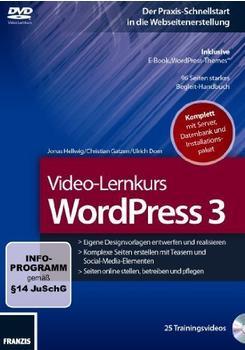 Franzis Video-Lernkurs WordPress 3 (DE) (Win/Mac)