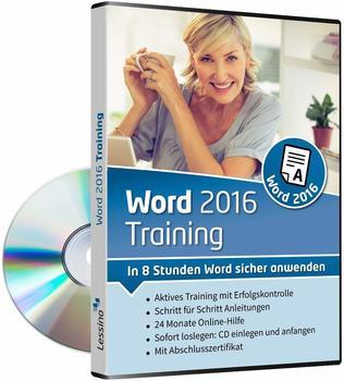 Lessino Word 2016 Training: In 8 Stunden Word sicher anwenden