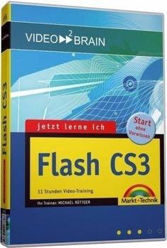 video2brain Jetzt lerne ich Flash CS3 (DE) (Win/Mac)