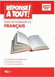 Mindscape Réponse à tout - Mon dictionnaire de français (FR) (Win)