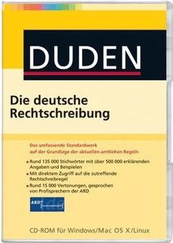 Duden Die deutsche Rechtschreibung 25. Auflage