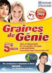 Mindscape Graine de génie 5ème 2009 (FR) (Win)