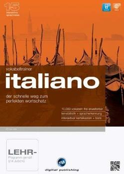 Digital Publishing Interaktive Sprachreise 15: Vokabeltrainer Italiano (Win)